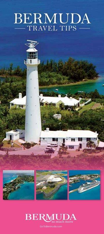 Bermuda Travel Tips Brochure