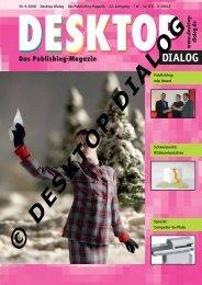 publishing - Desktop Dialog