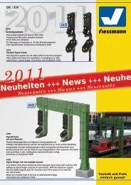 Viessmann Neuheiten 2011 - 424-ES MODELLBOLT