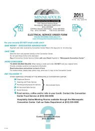 Download Electrical Service Form - Minneapolis