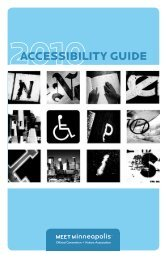 Accessibility Guide - Minneapolis