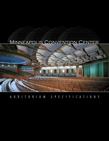 auditorium specs07.indd - Minneapolis