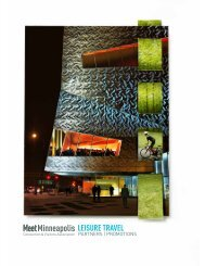 Download Leisure Travel Promotion Booklet - Minneapolis