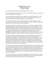 November 2005 - Philadelphia Bar Association