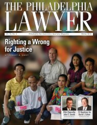 Download the complete issue - Philadelphia Bar Association