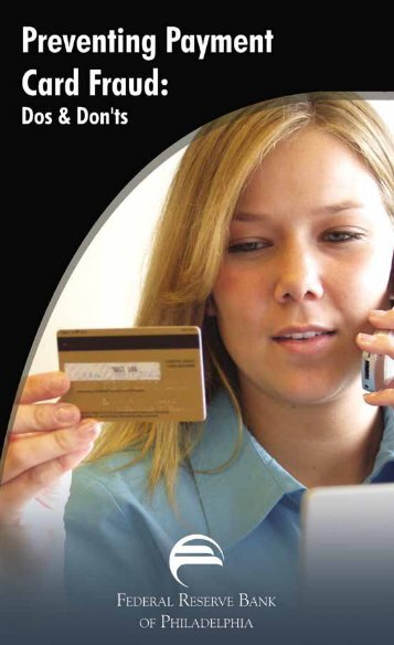 Preventing Payment Card Fraud - Federal Reserve Bank of ...