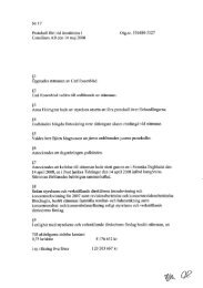 Protokoll årsstämma 2008 - Consilium