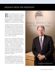 Complete 2008 Annual Report - Federal Reserve Bank of Philadelphia