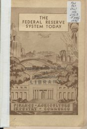 The Federal Reserve System Today - Federal Reserve Bank of ...