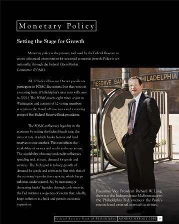 Monetary Policy - Federal Reserve Bank of Philadelphia