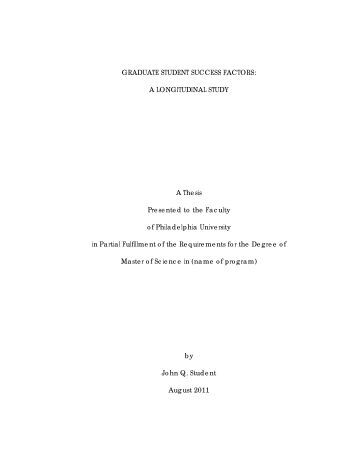 dissertation requirements document 1 chapter i the dissertation the dissertation is a document in which a student presents his or her research and findings to meet the requirements of the doctorate.