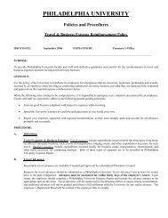 Travel and Business Expense Reimbursement Policy (PDF)