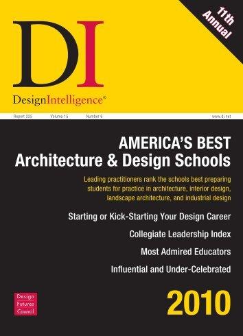 Architecture Program Leaflet