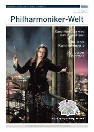 Philharmoniker-Welt - Philharmoniker Hamburg