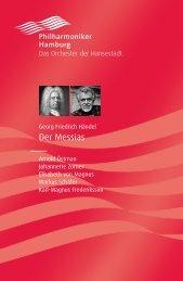 Der Messias, Georg Friedrich Händel - Philharmoniker Hamburg