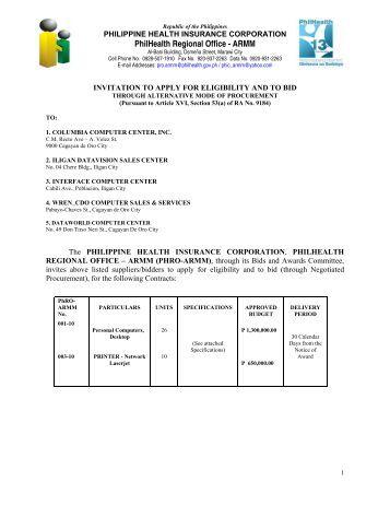 PhilHealth Regional Office - ARMM - Philippine Health Insurance ...