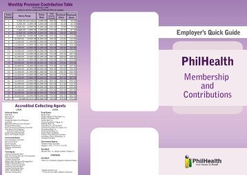 Revised Employer's Quick Guide (front) - Philippine Health ...