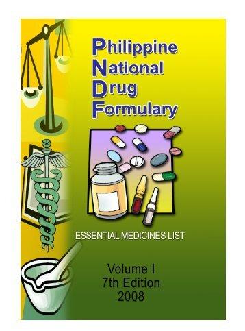 Philippine National Drug Formulary
