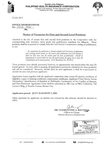 PHILIPPINE HEALTH INSURANCE CORPORATION