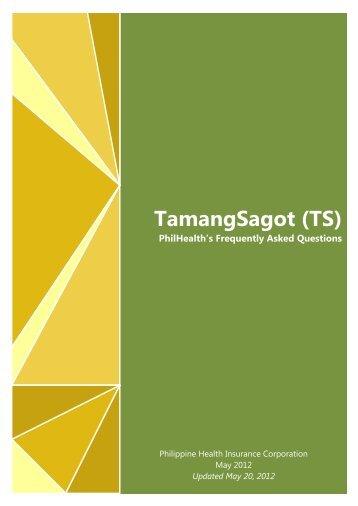 TamangSagot (TS) - Philippine Health Insurance Corporation