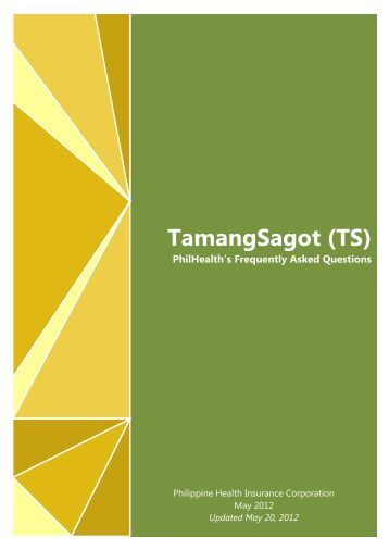 TamangSagot (TS) - Philippine Health Insurance Corporation