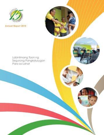 2010 - Philippine Health Insurance Corporation