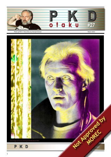 PKD Otaku Issue 27 - Philip K. Dick Fan Site