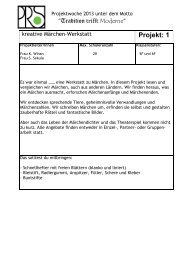 Projekt - Philipp-Reis-Schule