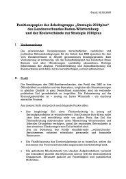 Strategie 2010plus - DRK Landesverband Baden-Württemberg