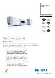 HTS8150/12 Philips SoundBar DVD Home Theater