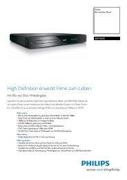 Datenblatt (pdf) - Philips