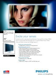42PFL9803H/10 Philips Flat TV with Perfect Pixel HD Engine and ...