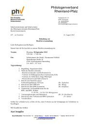 Philologenverband Rheinland-Pfalz eV
