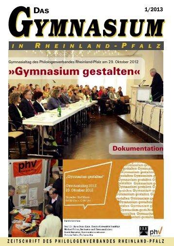 im Heft blättern - Philologenverband Rheinland-Pfalz eV