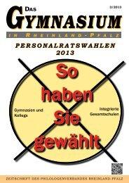 Einzelheiten lesen Sie hier. - Philologenverband Rheinland-Pfalz eV
