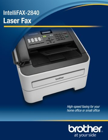 Laser Fax - Brother