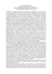 M. TULLIUS CICERO ÜBER DAS MANILISCHE ... - Philologie