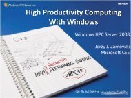 High Productivity Computing - PhilonNet Engineering Solutions