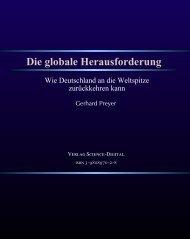 Die globale Herausforderung - ProtoSociology