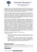 Le défi de l'entrepreneur responsable - Philosophie Management - Page 7