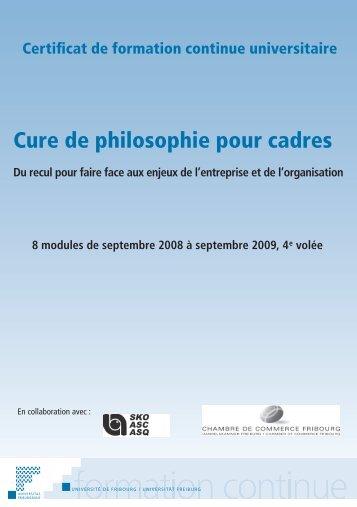 Cure de philosophie pour cadres - Philosophie Management