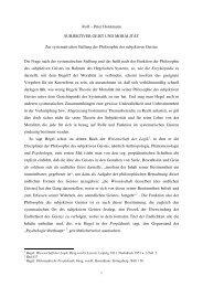 Rolf – Peter Horstmann SUBJEKTIVER GEIST UND MORALITÄT ...
