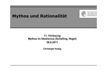 (11) Mythos und Rationalität.pptx - Institut für Philosophie