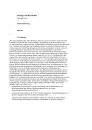 Analogie und Kreativität (Manuskript)