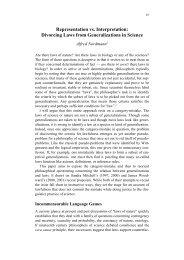 Representation vs. Interpretation: Divorcing Laws from ...