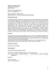 Seminarplan - LMU München