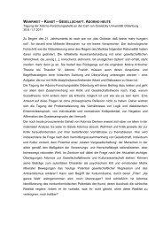 Adorno-Tagung 2011 - Universität Oldenburg