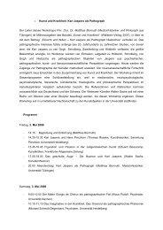 o Kunst und Krankheit: Karl Jaspers als Pathograph Der Leiter ...