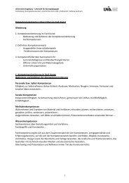 Kompetenzorientiertes Unterrichten im Fach Kunst Gliederung ... - Phil.