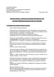 """Theodor Geigers """"Theorie der sozialen Schichtung"""" - Universität ..."""